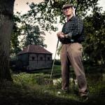 Golf portret Marc Ilford Fotografie